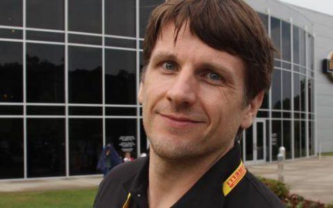 racer Damon Surzyshyn