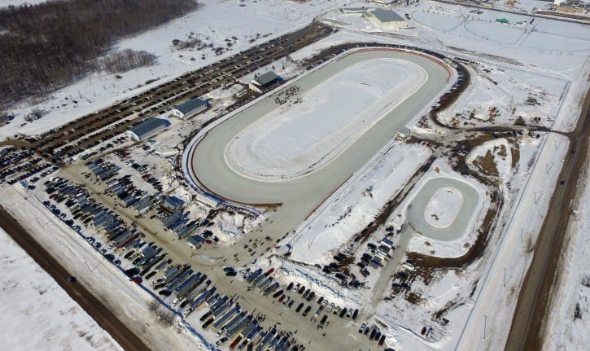 Oval Ice Rack Track